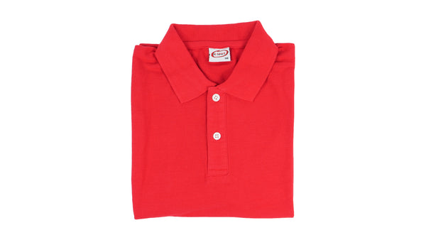 Short Sleeve Polo - Red