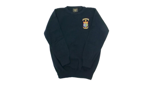 Rochfortbridge Navy Acrylic Jumper