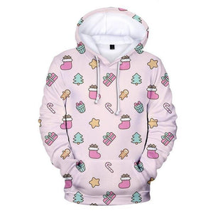 Lovely Things 3D Hoodie Christmas