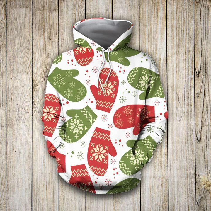 Christmas Pretties Gloves 3D Hoodie Christmas