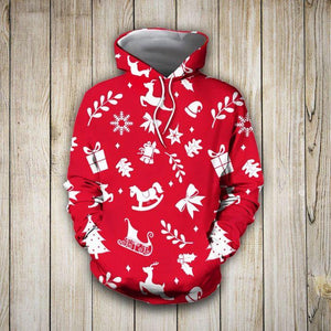 Lovely Pretties 3D Hoodie Christmas