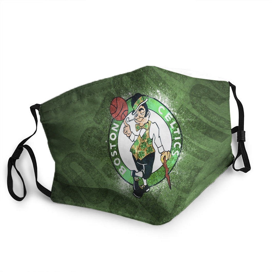 N.B.A Boston Celtics Mask (PM 2.5)