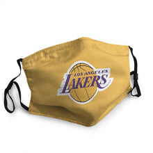 Load image into Gallery viewer, LA Lakers N.B.A Hot Mask (PM 2.5)