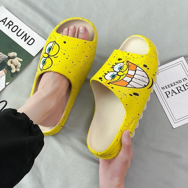 Summer Slipper SpongeBob