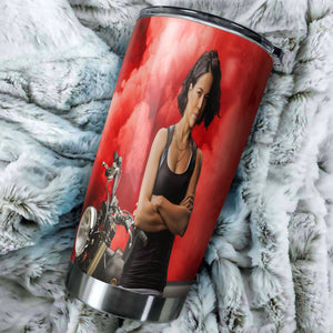 Fast Furious 9 Letty Tumbler