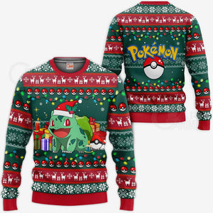 Bulbasaur Ugly Christmas Sweater