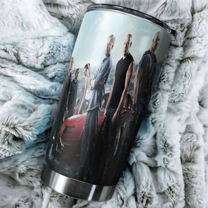 Fast Furious 9 Characters Tumbler - Perfect Gift Stainless Traveling Mugs
