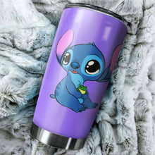 Load image into Gallery viewer, Cute Stitch Tumbler