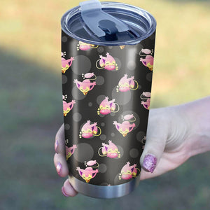 Cat Kitty Pokemon Pattern Tumbler