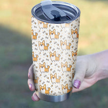 Load image into Gallery viewer, Corgi Cute Pattern Tumbler