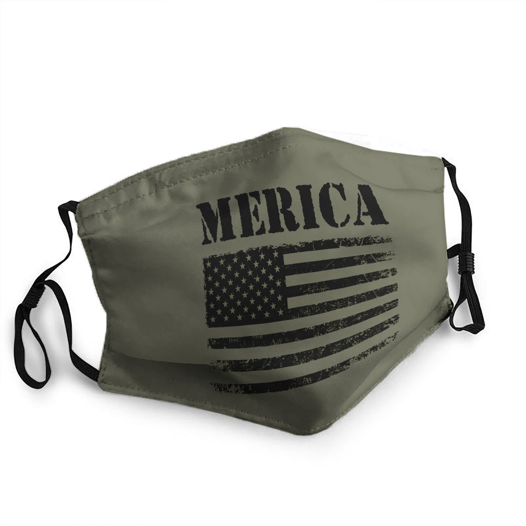American Flag Mask (PM 2.5)