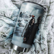 Load image into Gallery viewer, Fast Furious 9 Poster Tumbler - Perfect Gift Stainless Traveling Mugs