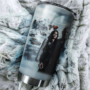 Fast Furious 9 Poster Tumbler - Perfect Gift Stainless Traveling Mugs