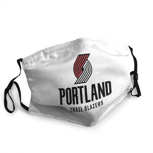 N.B.A Portland Trail Blazers Cool Mask (PM 2.5)