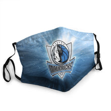 Load image into Gallery viewer, N.B.A Dallas Mavericks Hot Mask (PM 2.5)