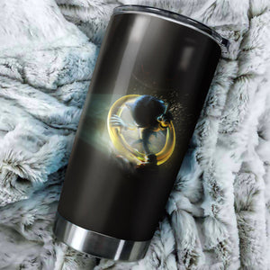 Sonic The Hedgehog Art Tumbler - Perfect Gift Stainless Traveling Mugs