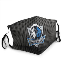Load image into Gallery viewer, Dallas Mavericks N.B.A Mask (PM 2.5)
