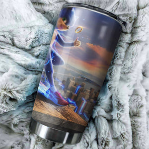 Sonic The Hedgehog HD Tumbler - Perfect Gift Stainless Traveling Mugs