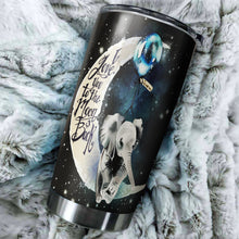 Load image into Gallery viewer, Elephant Love Moon And Back Tumbler