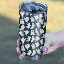 Load image into Gallery viewer, Funny Ghost Pattern Tumbler - Perfect Gift Stainless Traveling Mugs