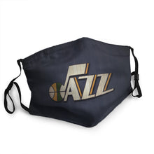Load image into Gallery viewer, Utah Jazz N.B.A Mask (PM 2.5)