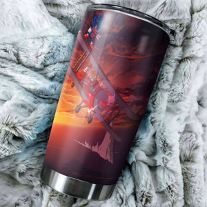 Sonic The Hedgehog Fly Tumbler - Perfect Gift Stainless Traveling Mugs