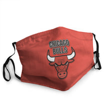 Load image into Gallery viewer, Chicago Bulls N.B.A Mask (PM 2.5)
