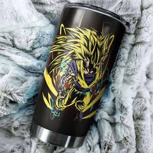 Goku Super Saiyan 3 Tumbler - perfect gift Stainless Traveling Mugs