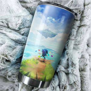 Sonic The Hedgehog Poster Tumbler - Perfect Gift Stainless Traveling Mugs