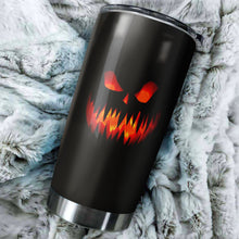 Load image into Gallery viewer, Halloween Smile Tumbler - perfect gift Stainless Traveling Mugs