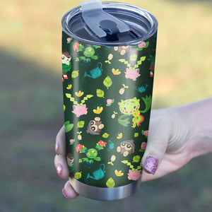 Green Plant Tumbler - Perfect Gift Stainless Traveling Mugs