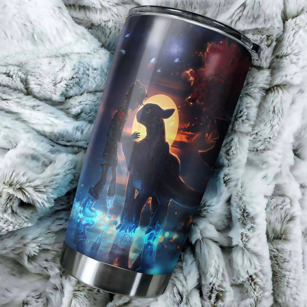 How To Train Your Dragon Tumbler - perfect gift Stainless Traveling Mugs