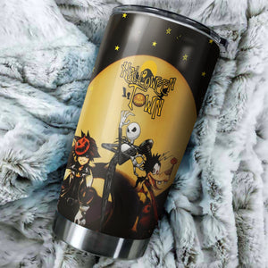 Halloween Nightmare Before Christmas Tumbler - Perfect Gift Stainless Traveling Mugs