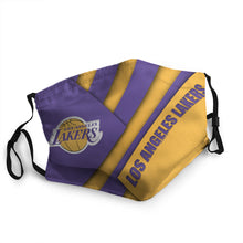 Load image into Gallery viewer, LA Lakers N.B.A Mask (PM 2.5)