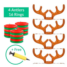 Load image into Gallery viewer, (Holiday SALE - 50% OFF) Reindeer Antler Ring Toss Game