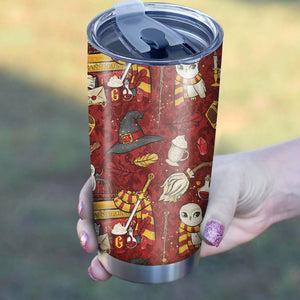 Harry Potter Red Tumbler - Perfect Gift Stainless Traveling Mugs