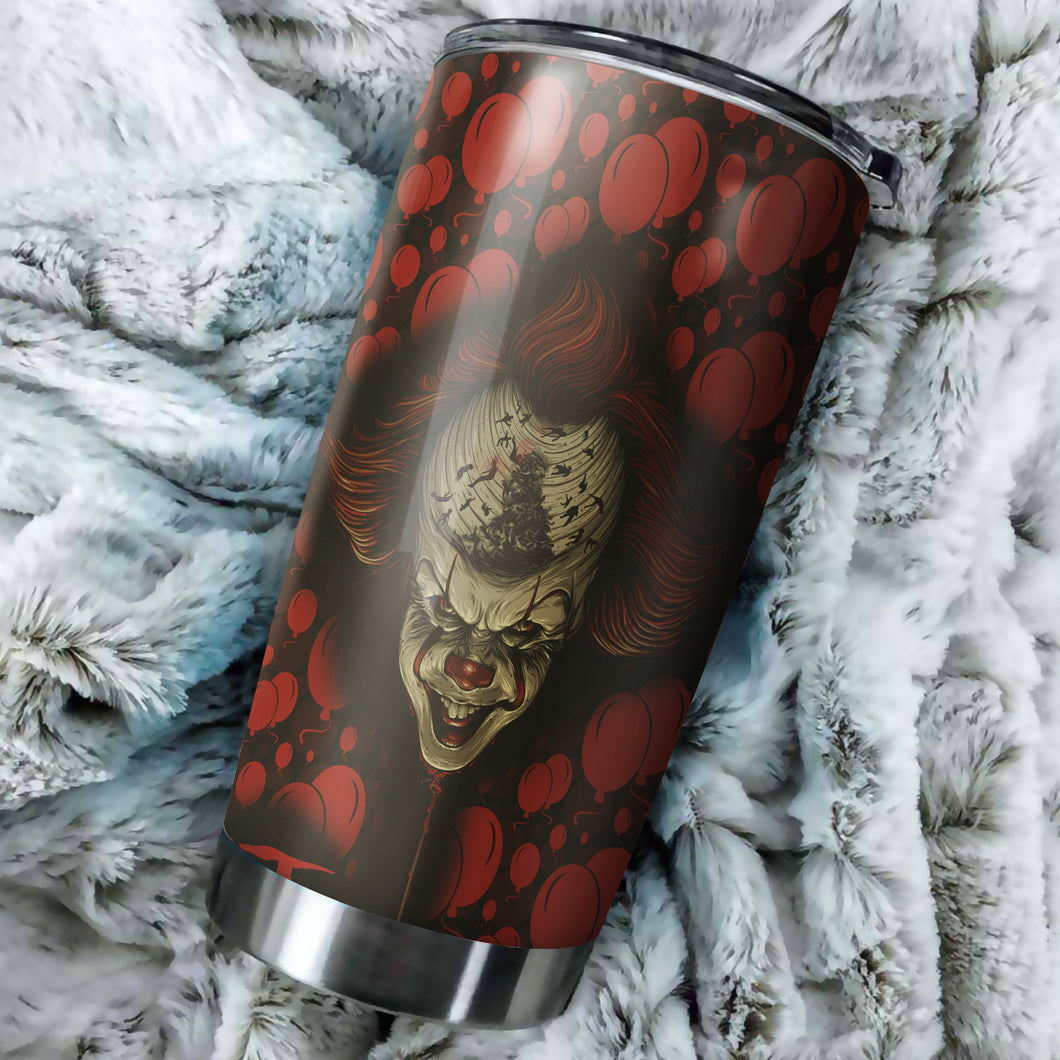 It Horror Tumbler - Perfect Gift Stainless Traveling Mugs