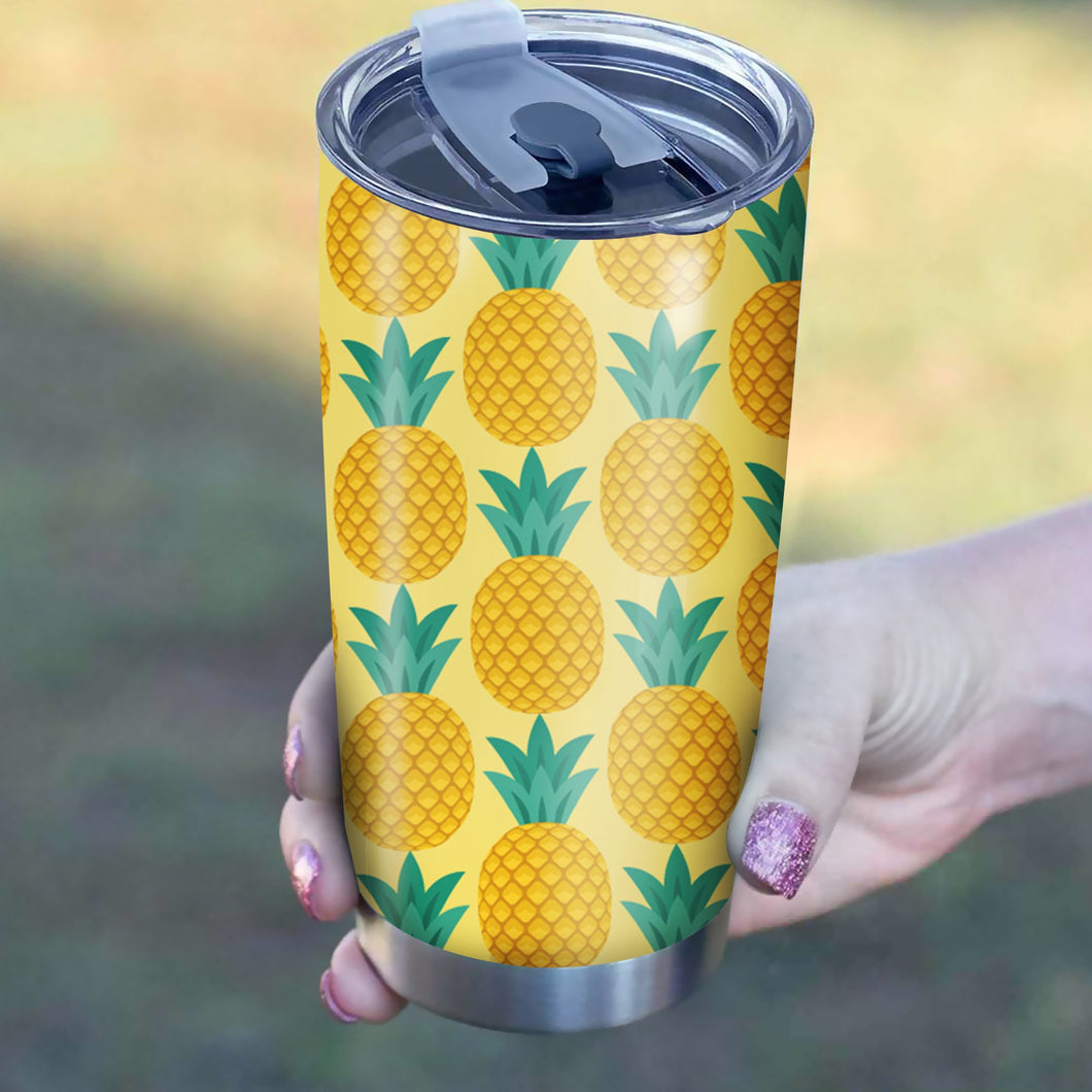 Pineapple Tumbler - Perfect Gift Stainless Traveling Mugs