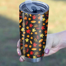 Load image into Gallery viewer, Autumn Leaves Pattern Tumbler