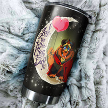 Load image into Gallery viewer, Beauty And The Beast Moon Tumblers