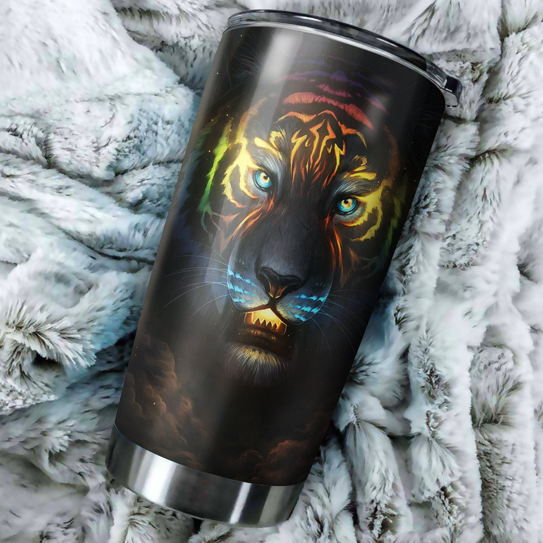 Tiger Galaxy Tumbler - Perfect Gift Stainless Traveling Mugs