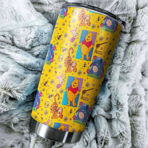 Winnie The Pooh Tumbler - Perfect Gift Stainless Traveling Mugs