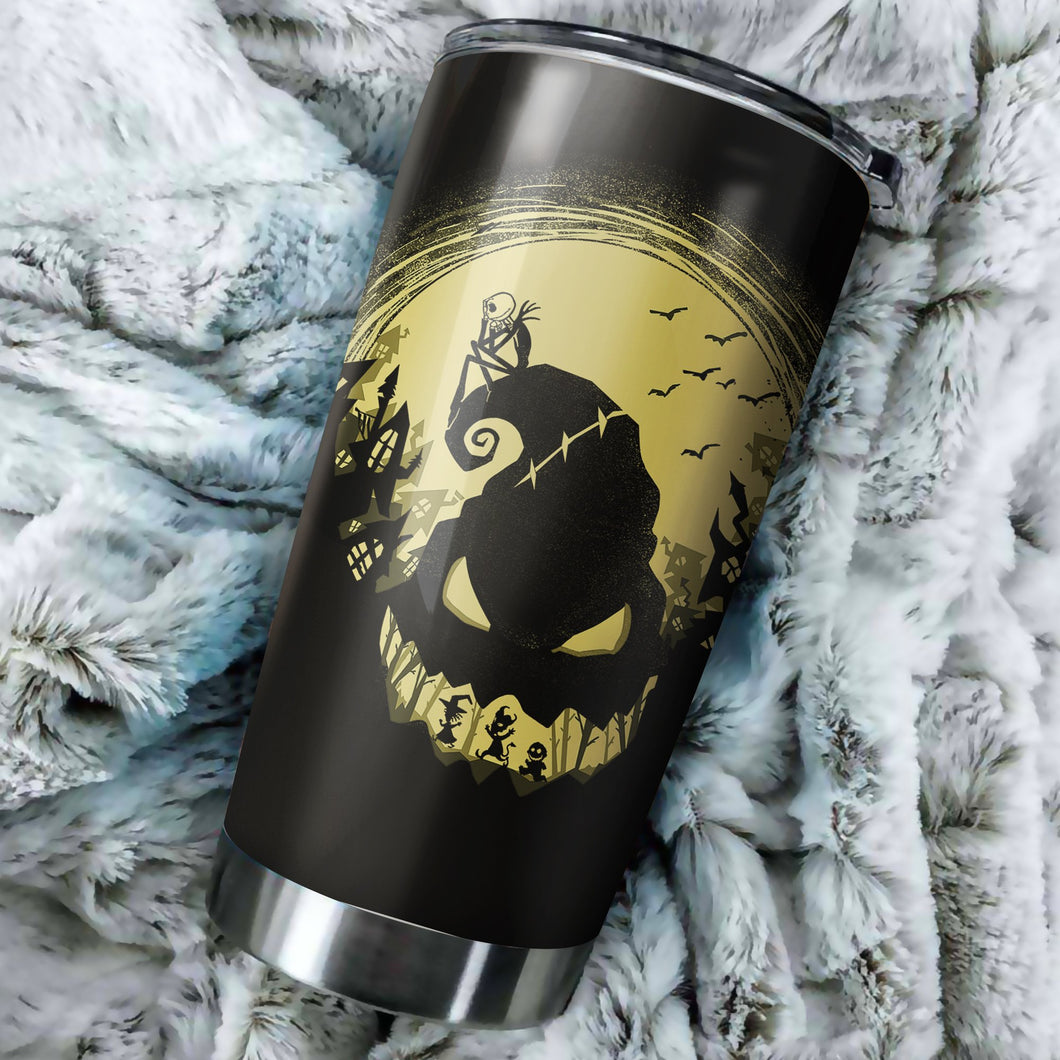 Nightmare Before Christmas Oogie Boogie Tumbler - perfect gift Stainless Traveling Mugs
