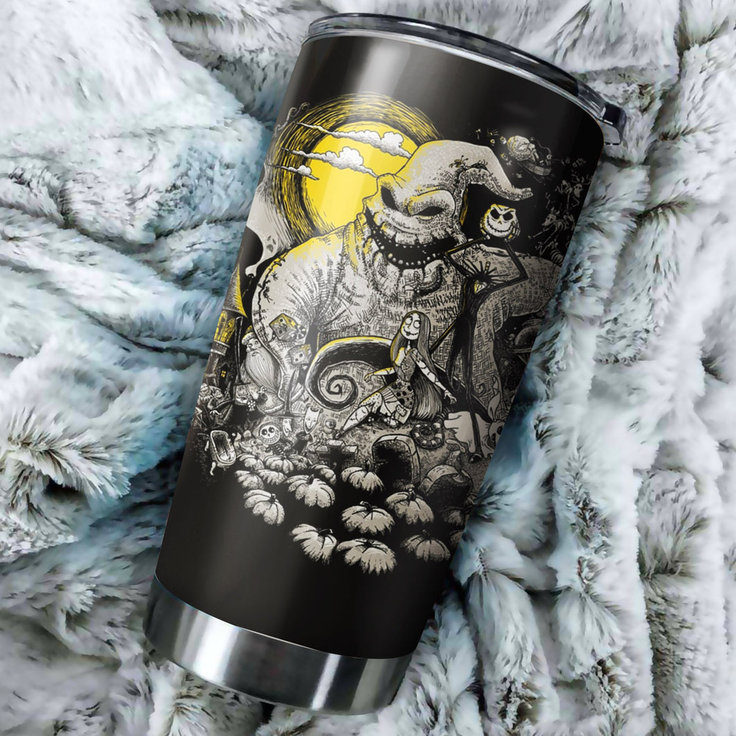 Nightmare Before Christmas Tumbler - perfect gift Stainless Traveling Mugs