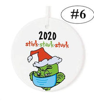 Load image into Gallery viewer, 2020 Stink Stank Stunk Christmas Ornaments