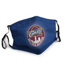 Load image into Gallery viewer, Cleveland Cavaliers N.B.A Mask (PM 2.5)