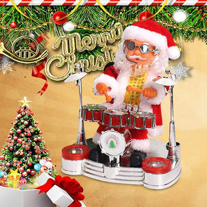 Electric Music Santa Claus Doll