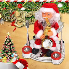 Load image into Gallery viewer, Electric Music Santa Claus Doll