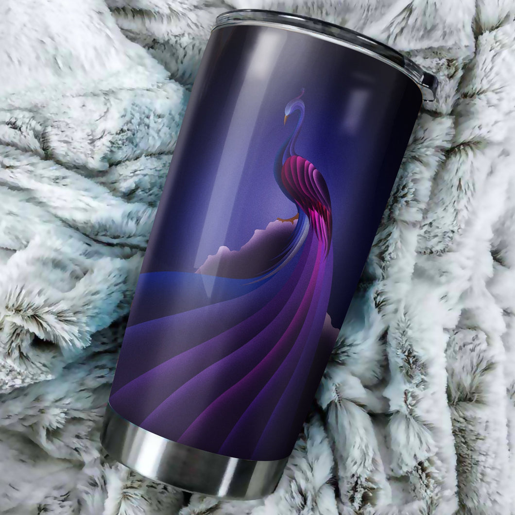 Peacock Tumbler - perfect gift Stainless Traveling Mugs