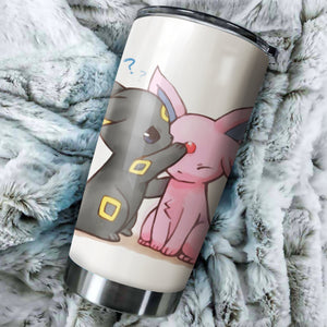 Pokemon Love Tumbler - perfect gift Stainless Traveling Mugs